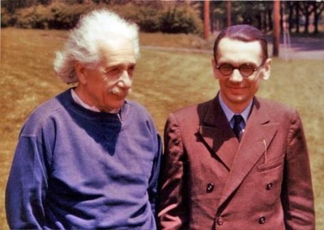 Prof Hesabi & Einstein